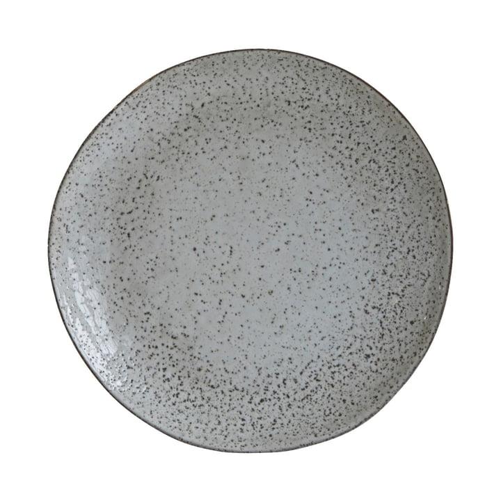 Teller Rustic Ø 27,5 cm, graublau von House Doctor