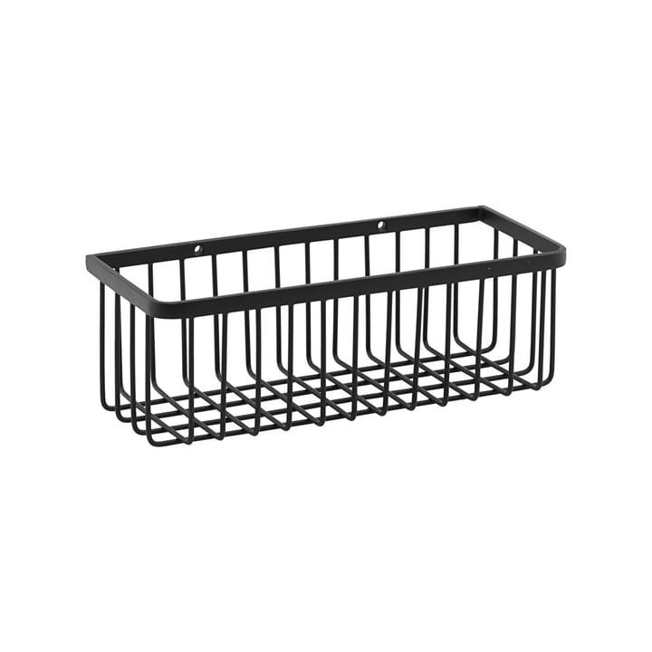 Basket Badezimmer Aufbewahrung, small / schwarz von House Doctor