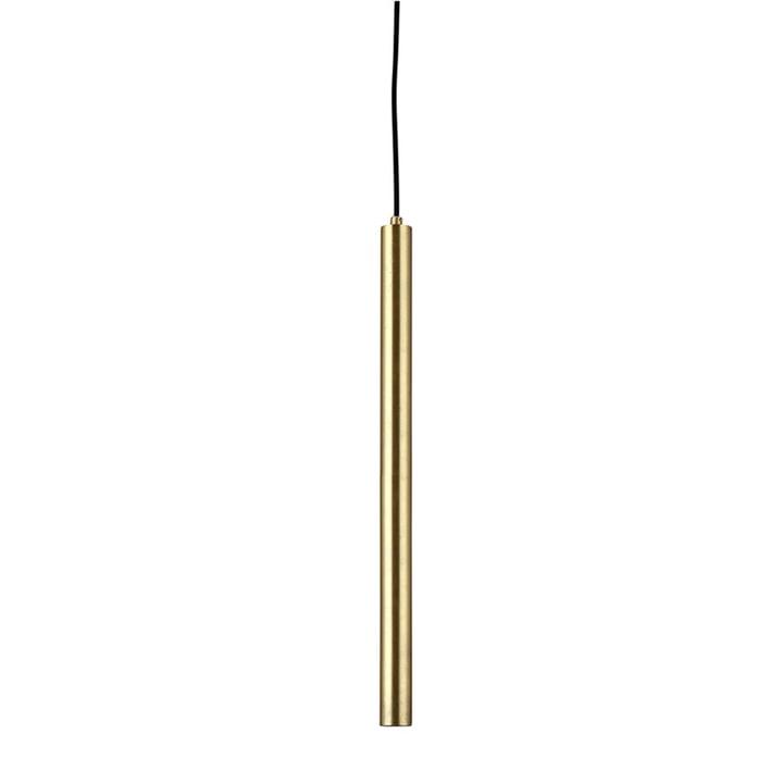Pipe Two LED-Pendelleuchte von Norr11 in Messing / schwarz