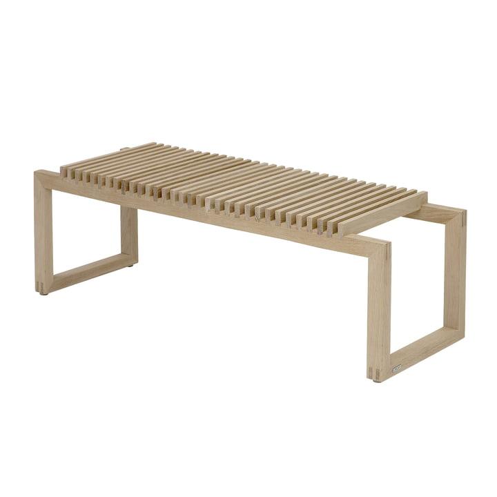 Cutter Holz-Bank 120 von Skagerak in Eiche