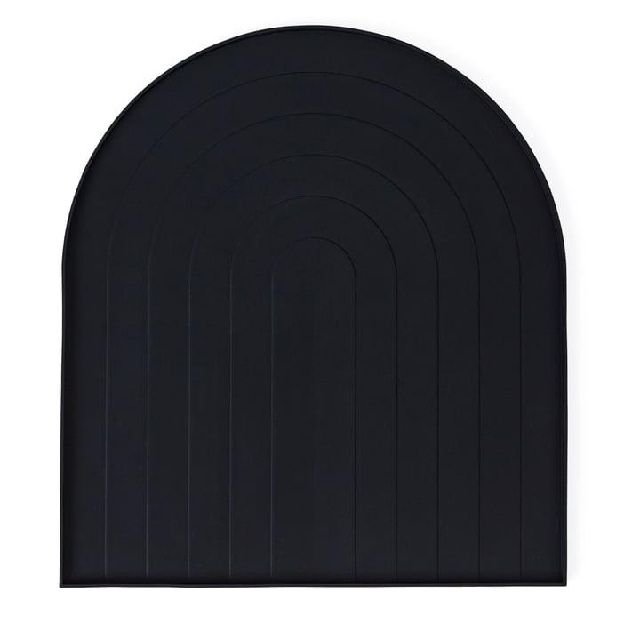 Abtropfmatte von OYOY in schwarz