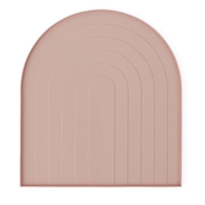 Abtropfmatte von OYOY in rosa