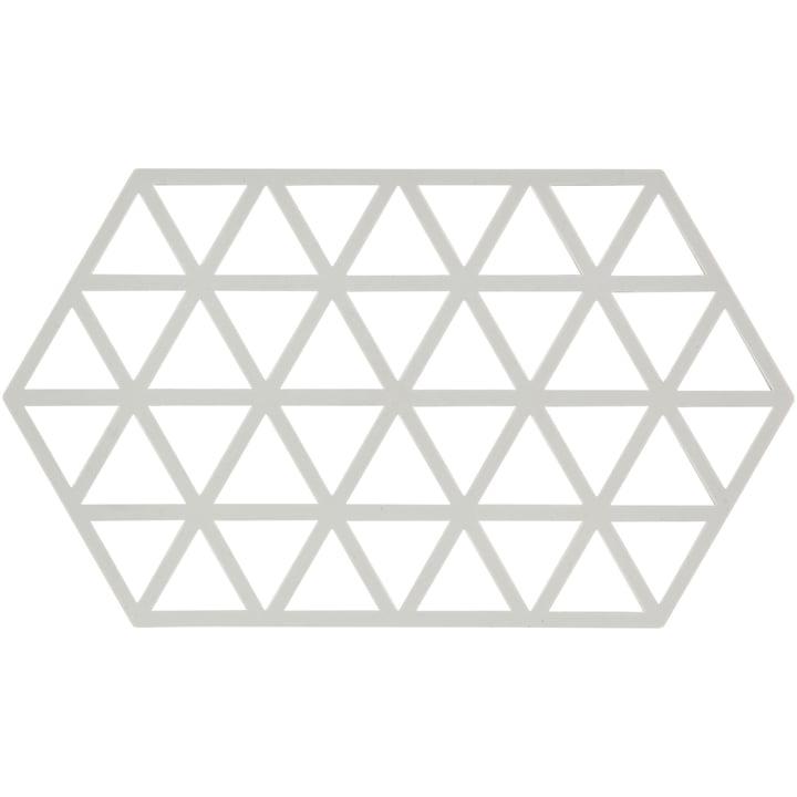 Triangle Untersetzer 24 x 14 cm von Zone Denmark in warm grey