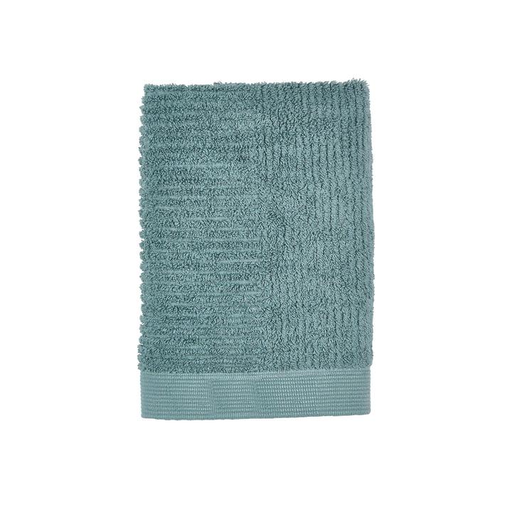 Classic Gästehandtuch 50 x 70 cm von Zone Denmark in cameo blue / petrol green