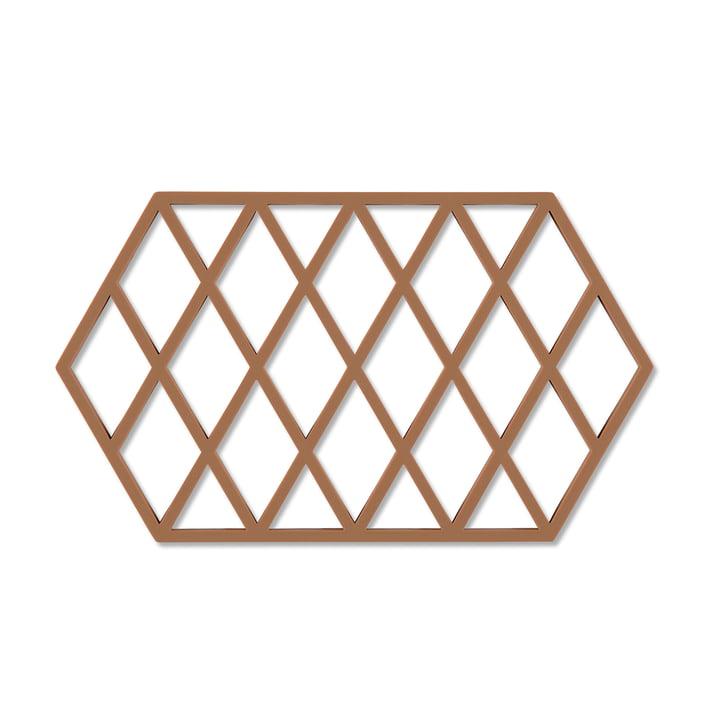 Harlequin Untersetzer 24 x 14 cm von Zone Denmark in cinnamon