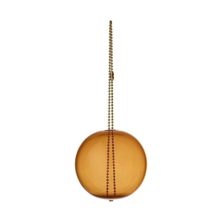 Monili Christmas Ornament, Ø 7 x H 16 cm, amber von AYTM