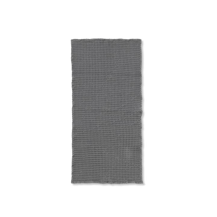 Organic Handtuch 100 x 50 cm von ferm Living in grau