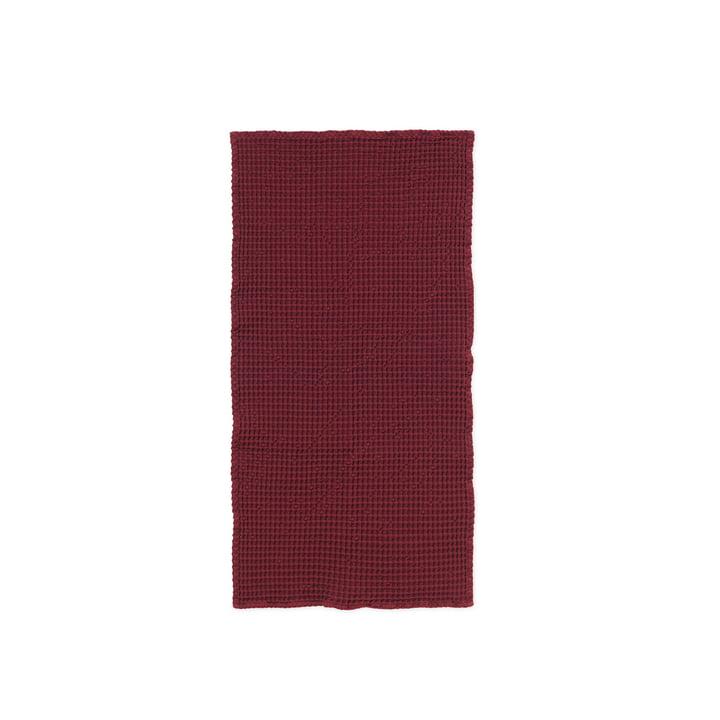 Organic Handtuch 100 x 50 cm von ferm Living in zimt