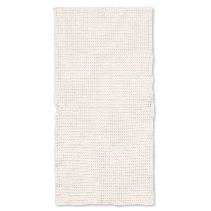 Organic Badetuch 140 x 70 cm von ferm Living in weiß