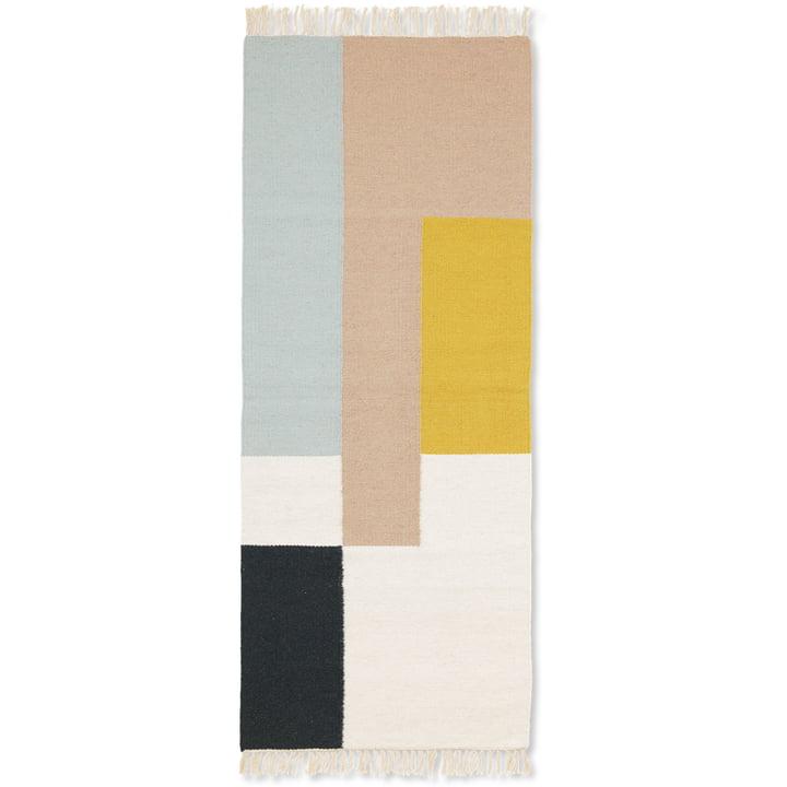 Kelim Rug squares in 70 x 180 cm von ferm Living