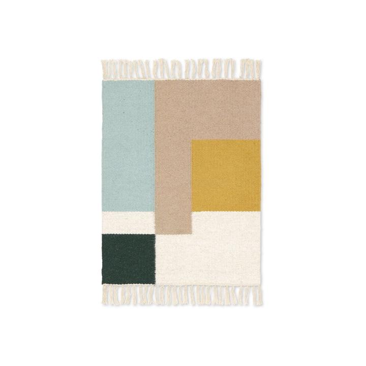 Kelim Rug squares in 50 x 70 cm von ferm Living