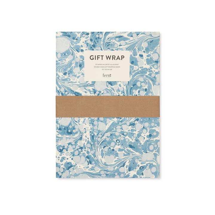 Geschenkpapier-Buch, marble von ferm Living