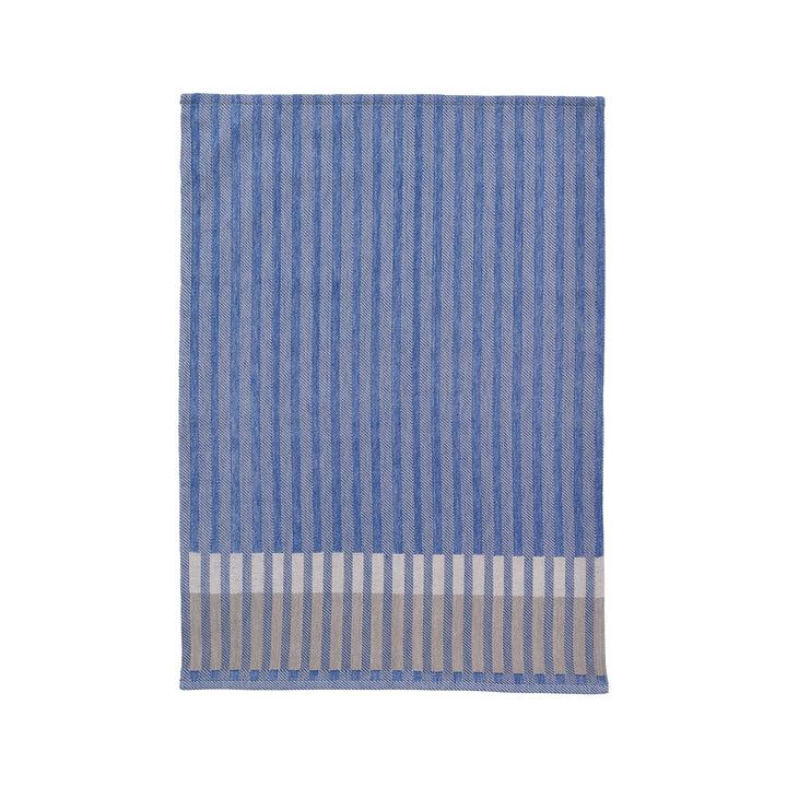 Grain Jacquard Geschirrtuch, blau von ferm Living