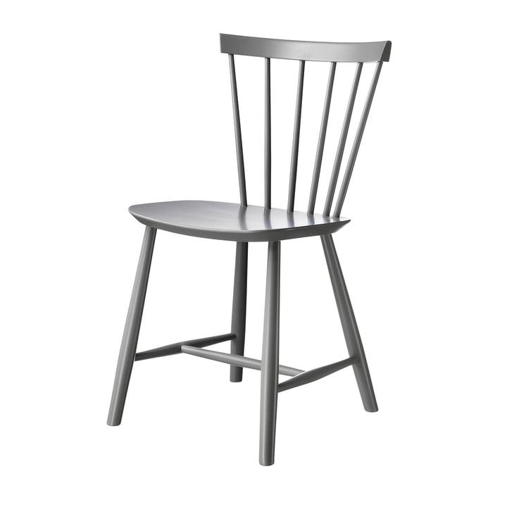 J46 Stuhl, Buche grau von FDB Møbler