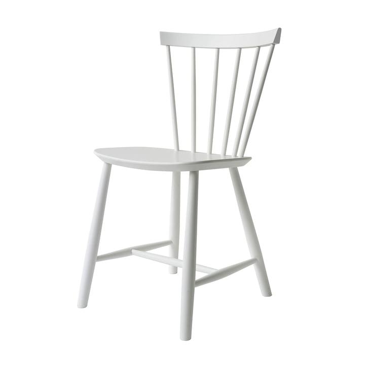 J46 Stuhl, Buche weiß von FDB Møbler