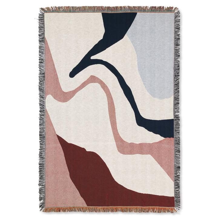 Vista Decke 120 x 170 cm von ferm Living in off-white