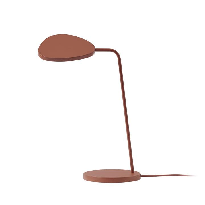 Leaf LED-Tischleuchte von Muuto in kupfer-braun