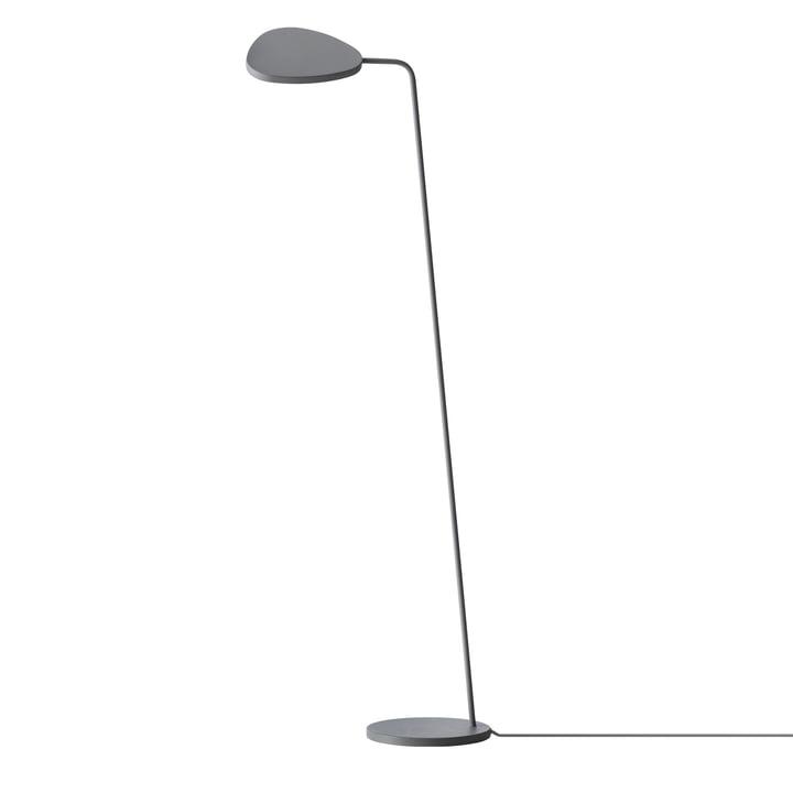 Leaf LED-Stehleuchte von Muuto in grau