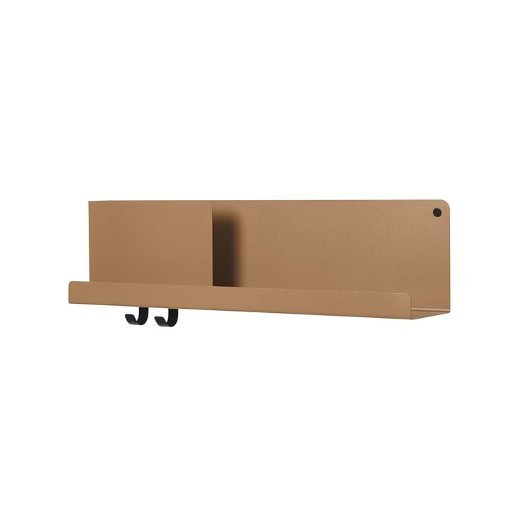 Folded Shelves 63 x 16,5 cm von Muuto in burnt orange