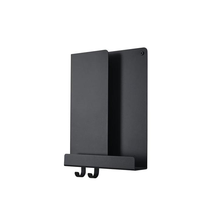 Folded Shelves 29.5 x 40 cm von Muuto in schwarz