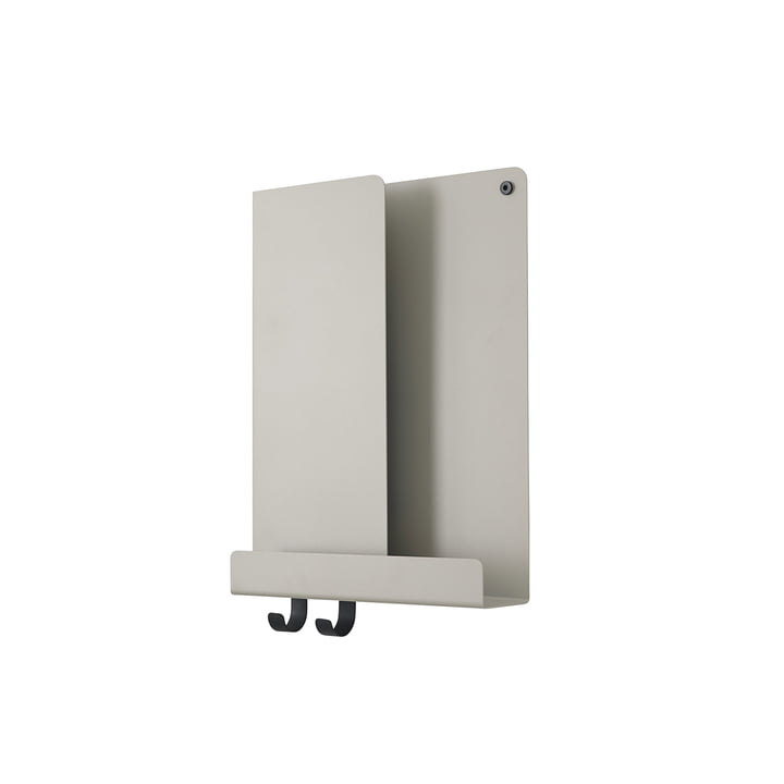 Folded Shelves 29.5 x 40 cm von Muuto in grau
