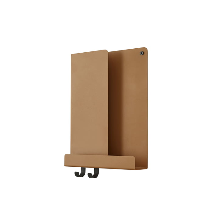 Folded Shelves 29.5 x 40 cm von Muuto in burnt orange
