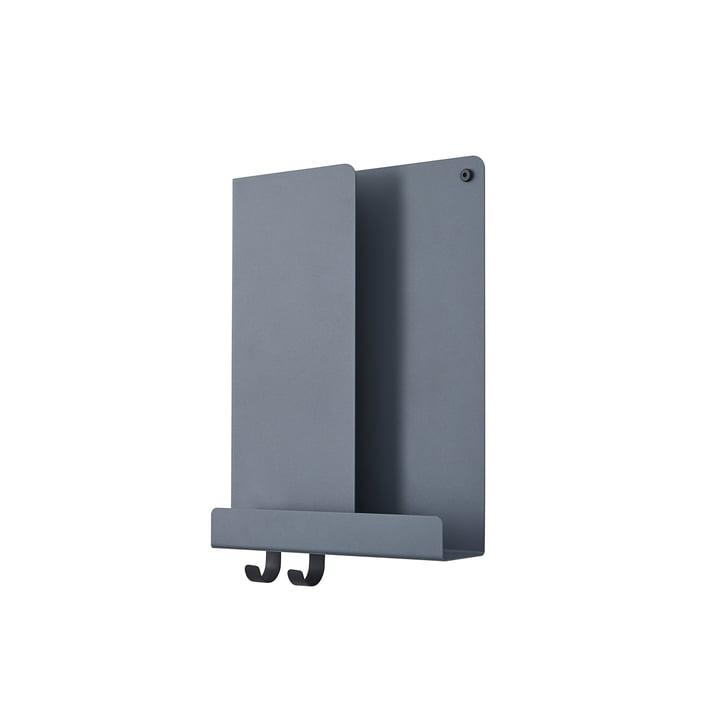 Folded Shelves 29.5 x 40 cm von Muuto in blau-grau