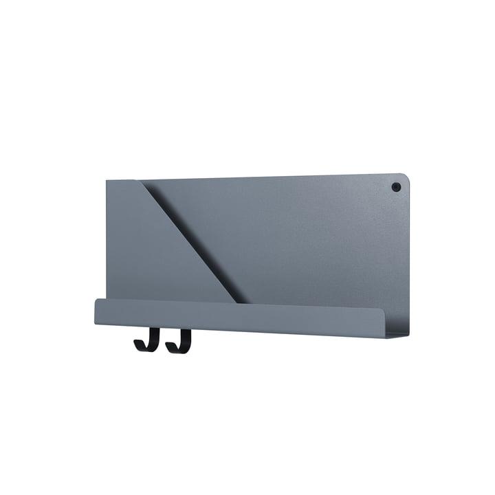 Folded Shelves 51 x 22 cm von Muuto in blau-grau