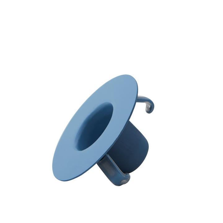 Kerzenhalterung für AJ Porzellan Mini-Becher und Vase von Design Letters in blau