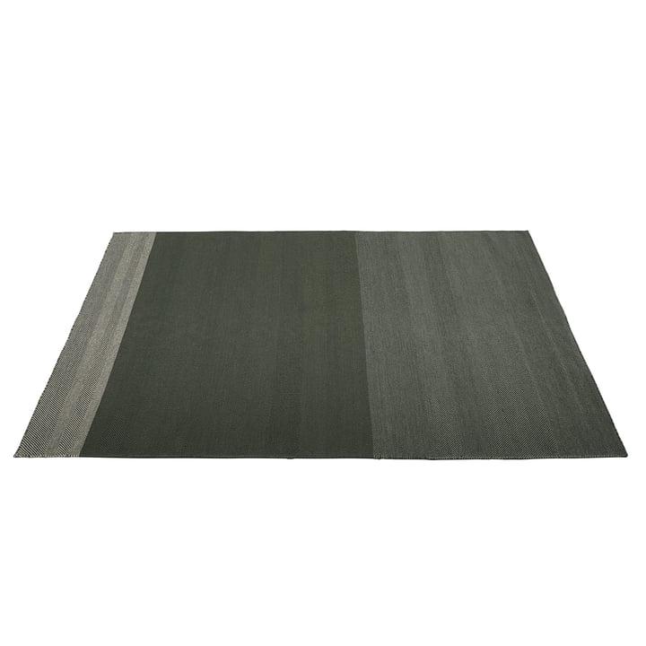 Varjo Teppich 200 x 300 cm von Muuto in dunkelgrün