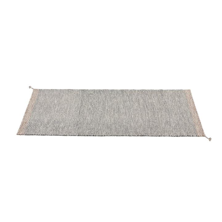 Ply Teppichläufer 80 x 200 cm von Muuto in schwarz-weiß