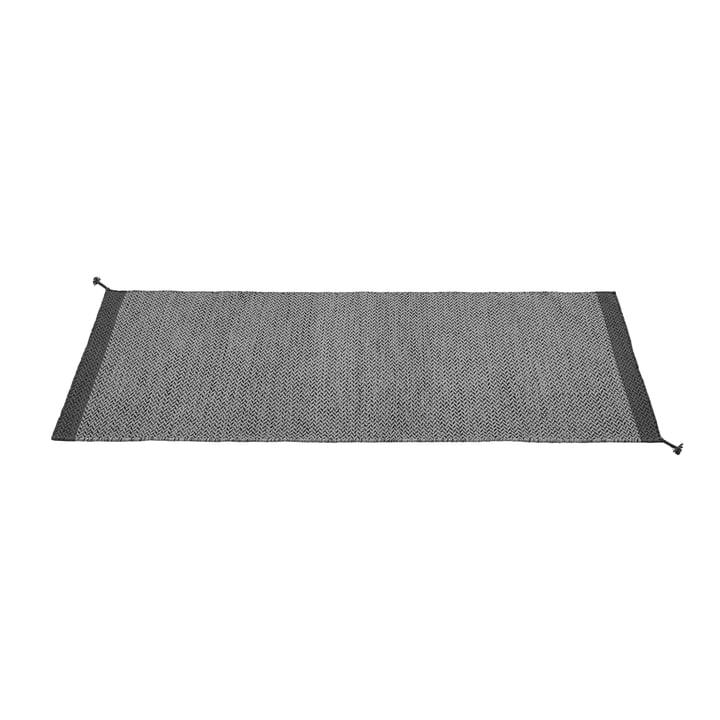 Ply Teppichläufer 80 x 200 cm von Muuto in dunkelgrau