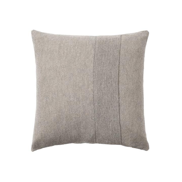 Layer Kissen 50 x 50 cm von Muuto in sand-grau
