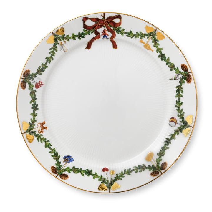 Star Fluted Christmas Speiseteller Ø 27 cm von Royal Copenhagen