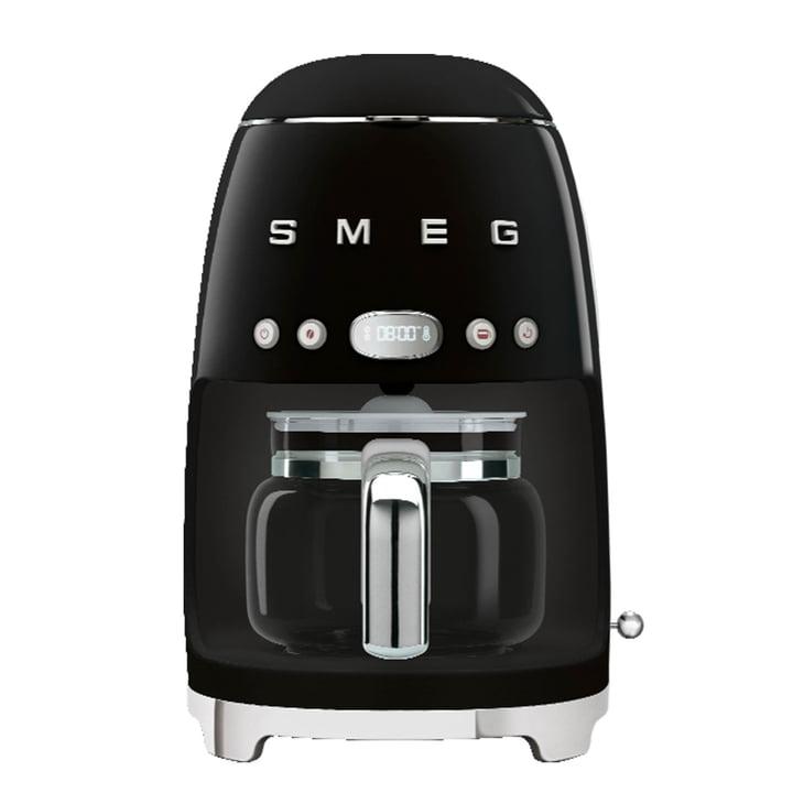 Filterkaffeemaschine DCF02 von Smeg in schwarz