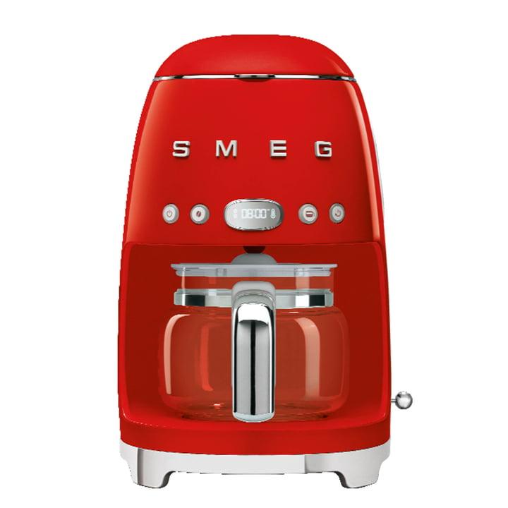 Filterkaffeemaschine DCF02 von Smeg in rot