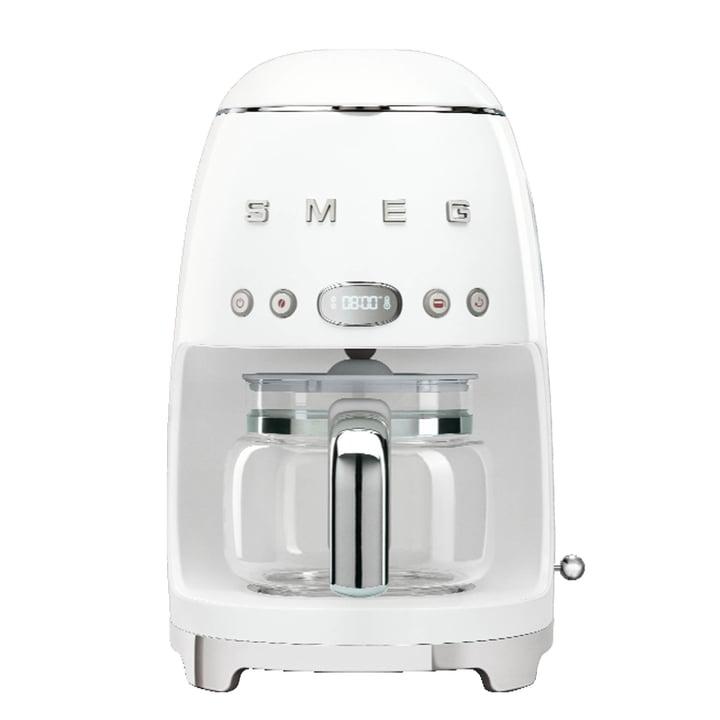 Filterkaffeemaschine DCF02 von Smeg in weiß