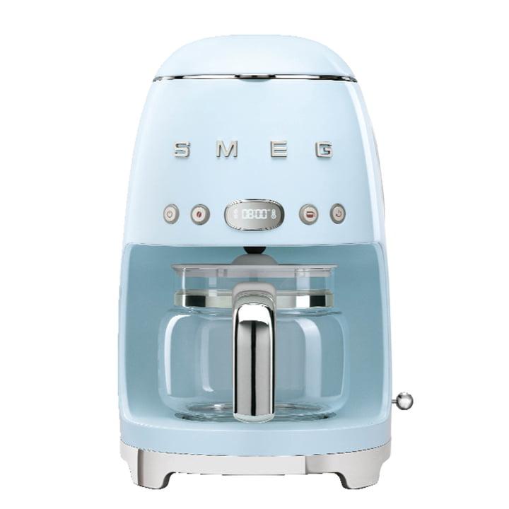 Filterkaffeemaschine DCF02 von Smeg in pastellblau