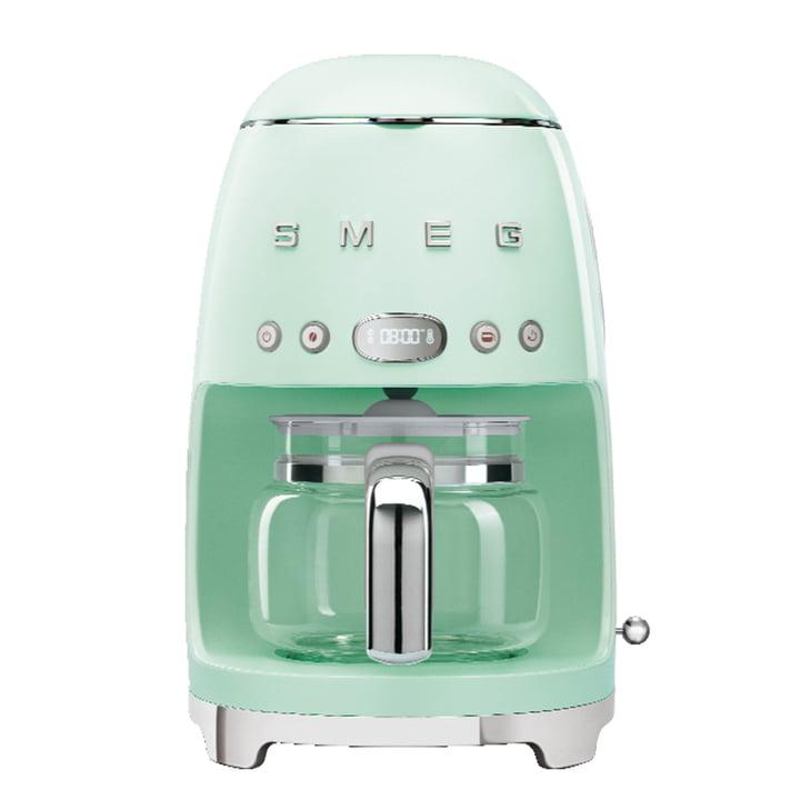 Filterkaffeemaschine DCF02 von Smeg in pastellgrün