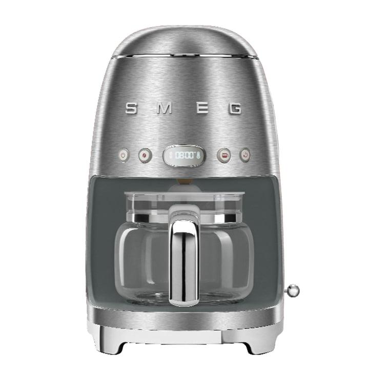 Filterkaffeemaschine DCF02 von Smeg in Chrom