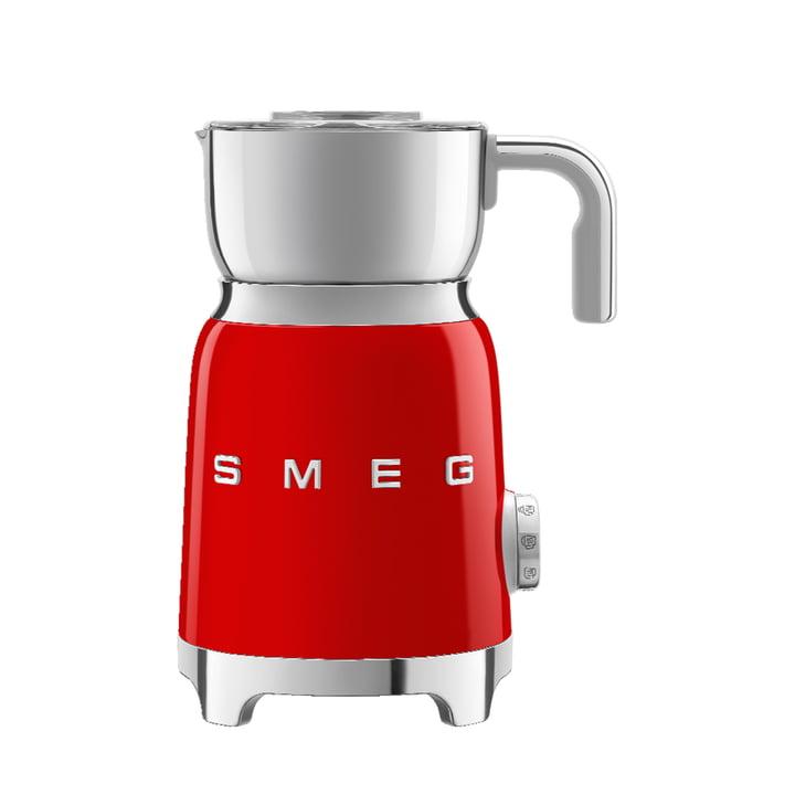 Milchaufschäumer MFF01 von Smeg in rot