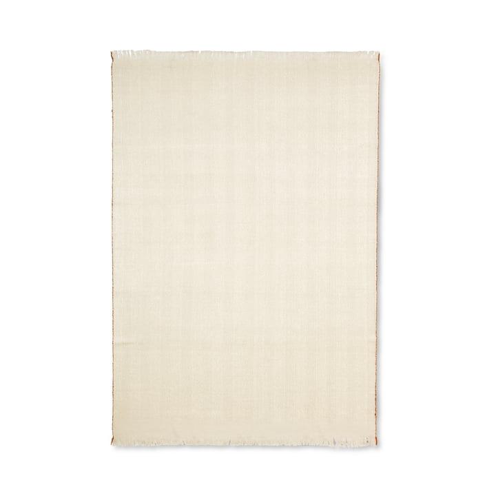 Herringbone Decke 120 x 180 cm von ferm Living in weiß