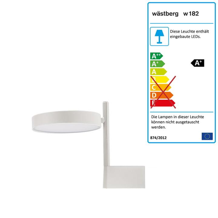 w182 Pastille LED Wandleuchte br1 von Wästberg in soft white