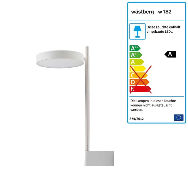 w182 Pastille LED Wandleuchte br2 von Wästberg in soft white