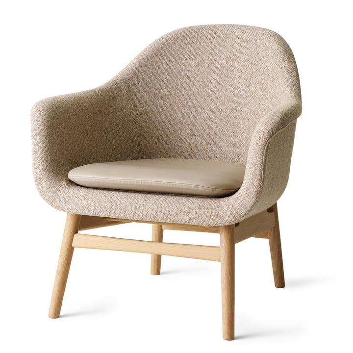 Menu - Harbour Louge Chair, Gestell Eiche natur, Savanna 222 / Kissen Nuance 40782