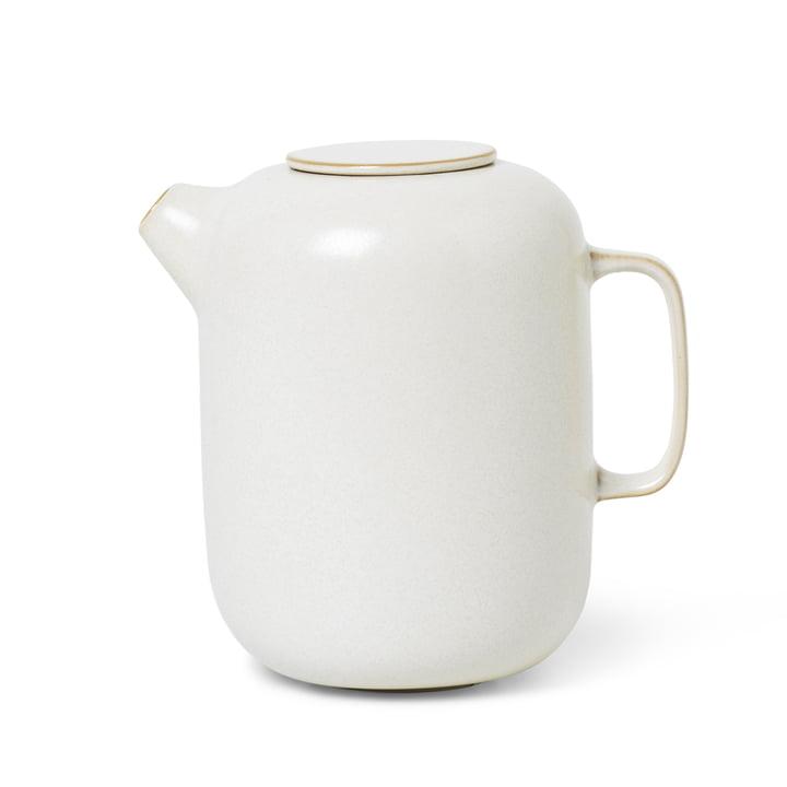 Sekki Kaffeekanne von ferm Living in weiß