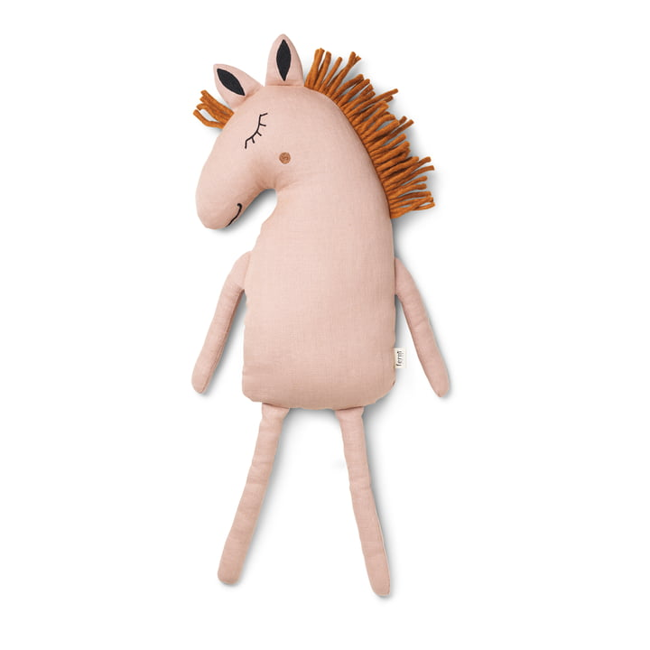 Safari Kissen Pferd von ferm Living in dusty rose