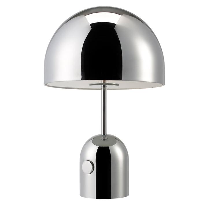Bell Tischleuchte Large von Tom Dixon in Chrom