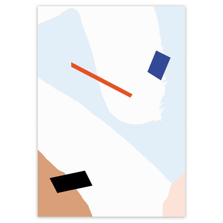 artvoll - Play No. 2 Poster, 70 x 100 cm