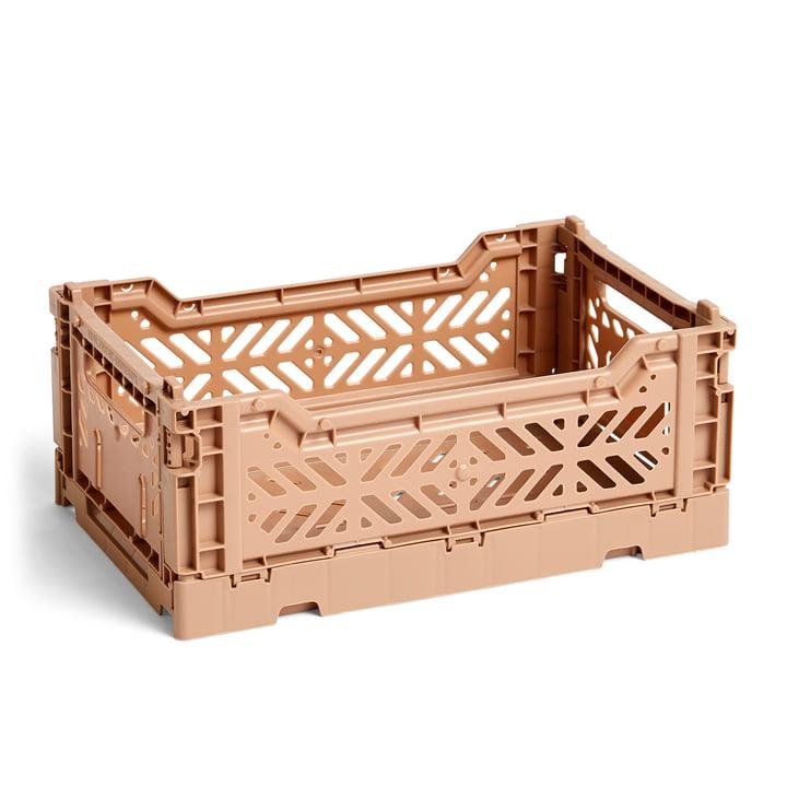 Hay - Colour Crate Korb S, 26,5 x 17 cm, nougat